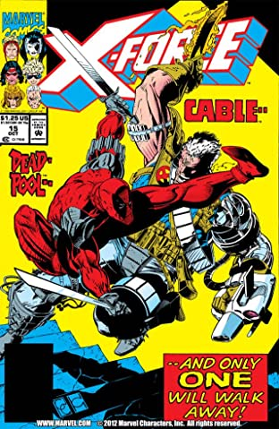 X-Force (1991-2002) No.15