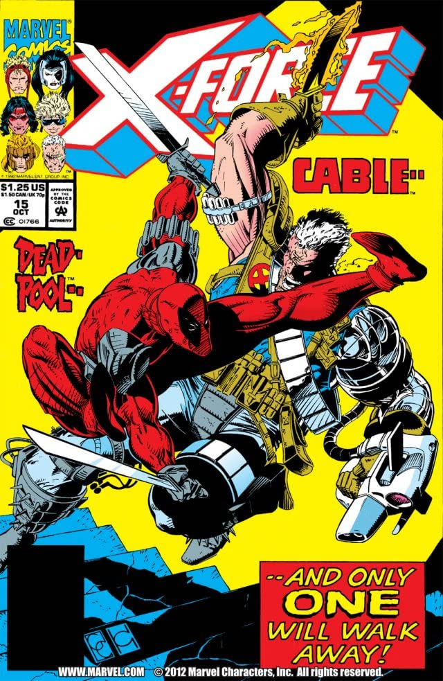 X-Force (1991-2004) #15