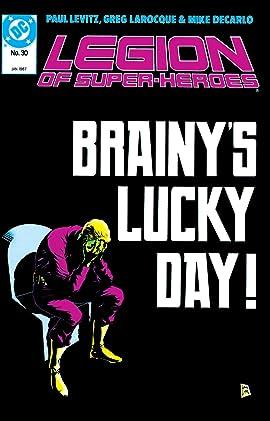Legion of Super-Heroes (1984-1989) #30