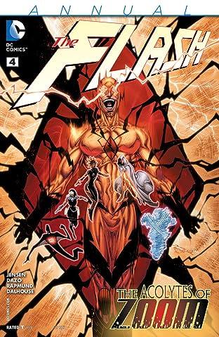 The Flash (2011-2016): Annual #4