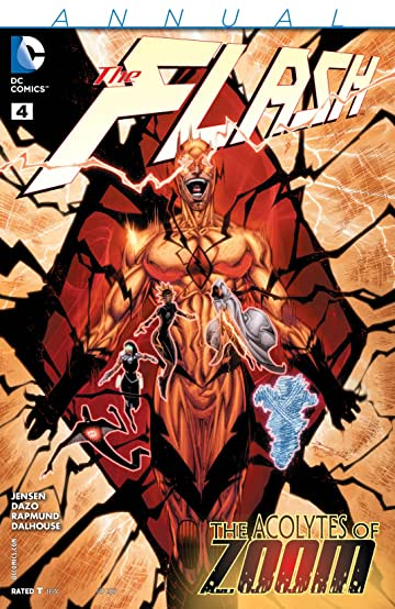 The Flash (2011-2016): Annual #4