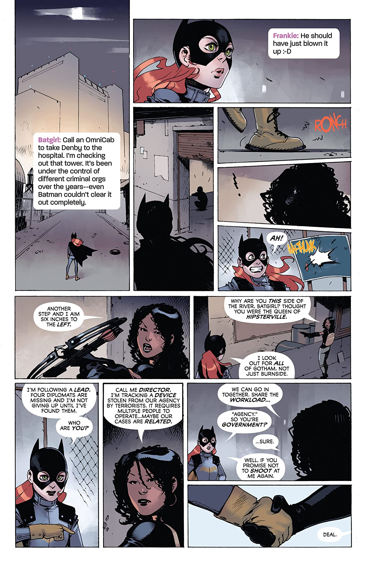 Batgirl (2011-2016): Annual #3
