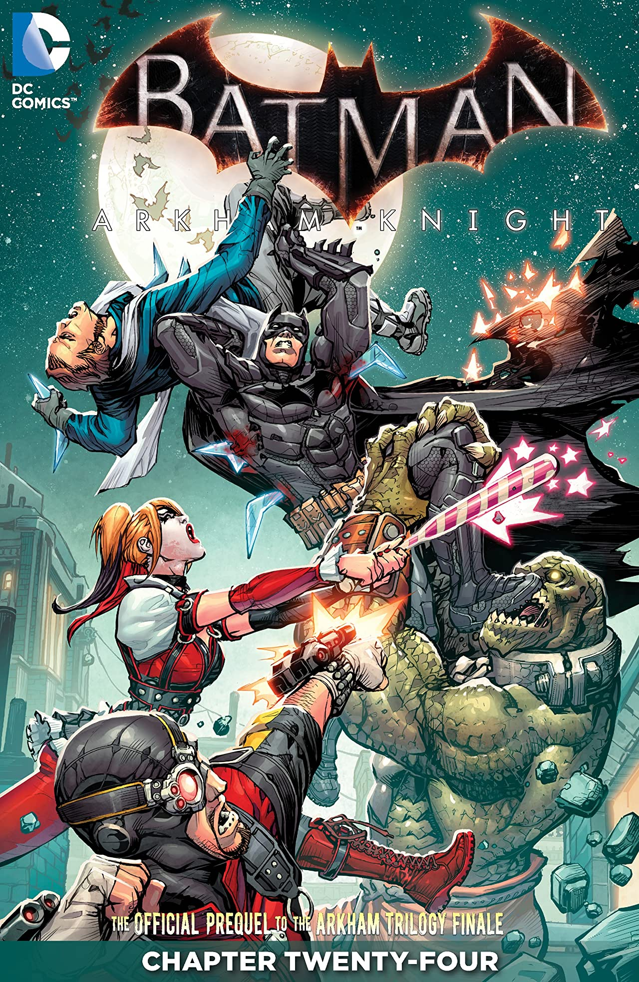 Batman: Arkham Knight (2015-2016) #24
