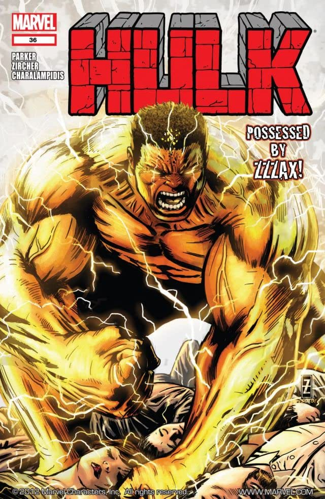 Hulk (2008-2012) #36