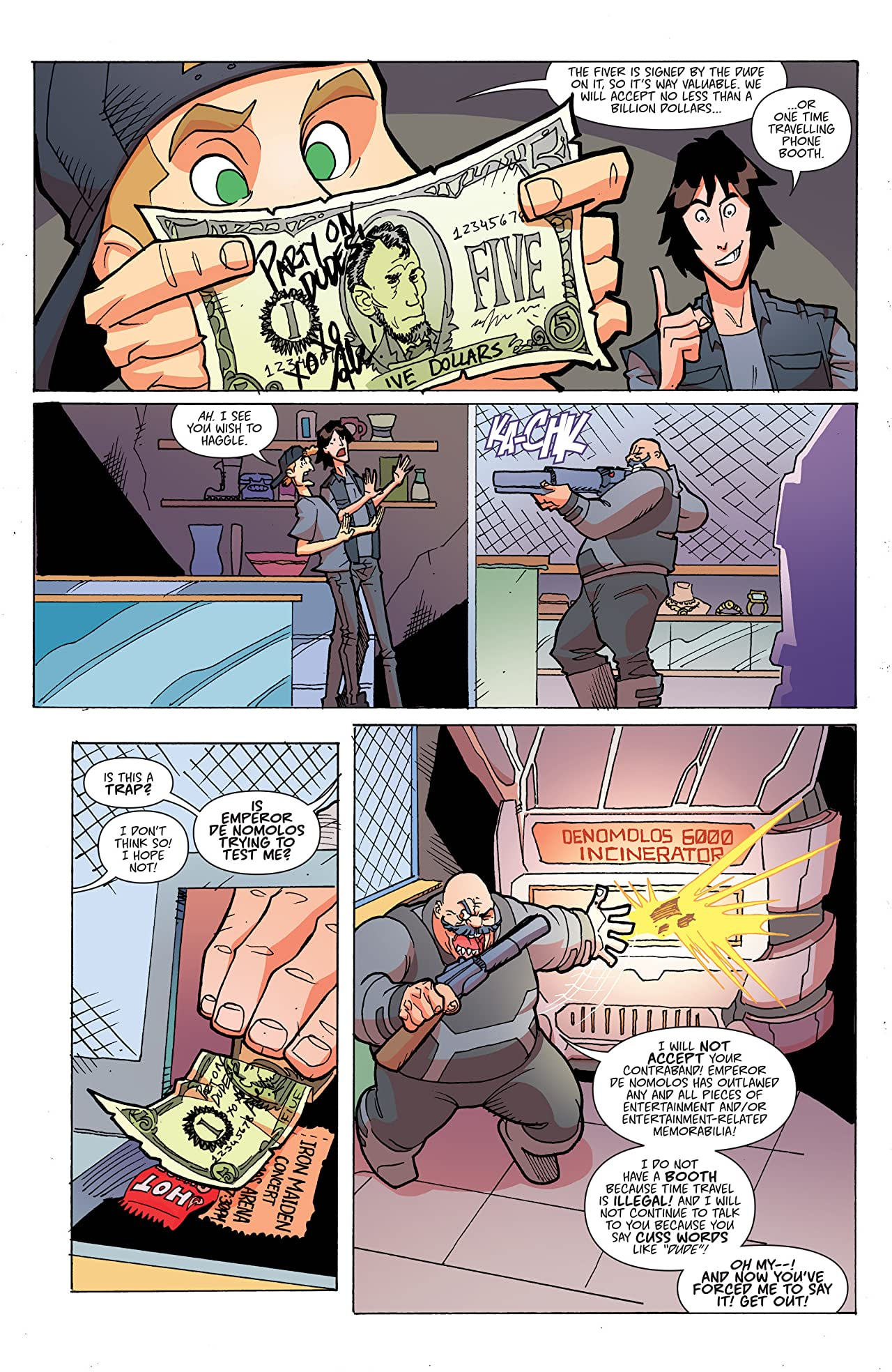 Bill & Ted's Most Triumphant Return #5 (of 6)