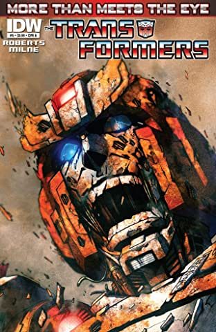 Transformers: More Than Meets the Eye (2011-) #5