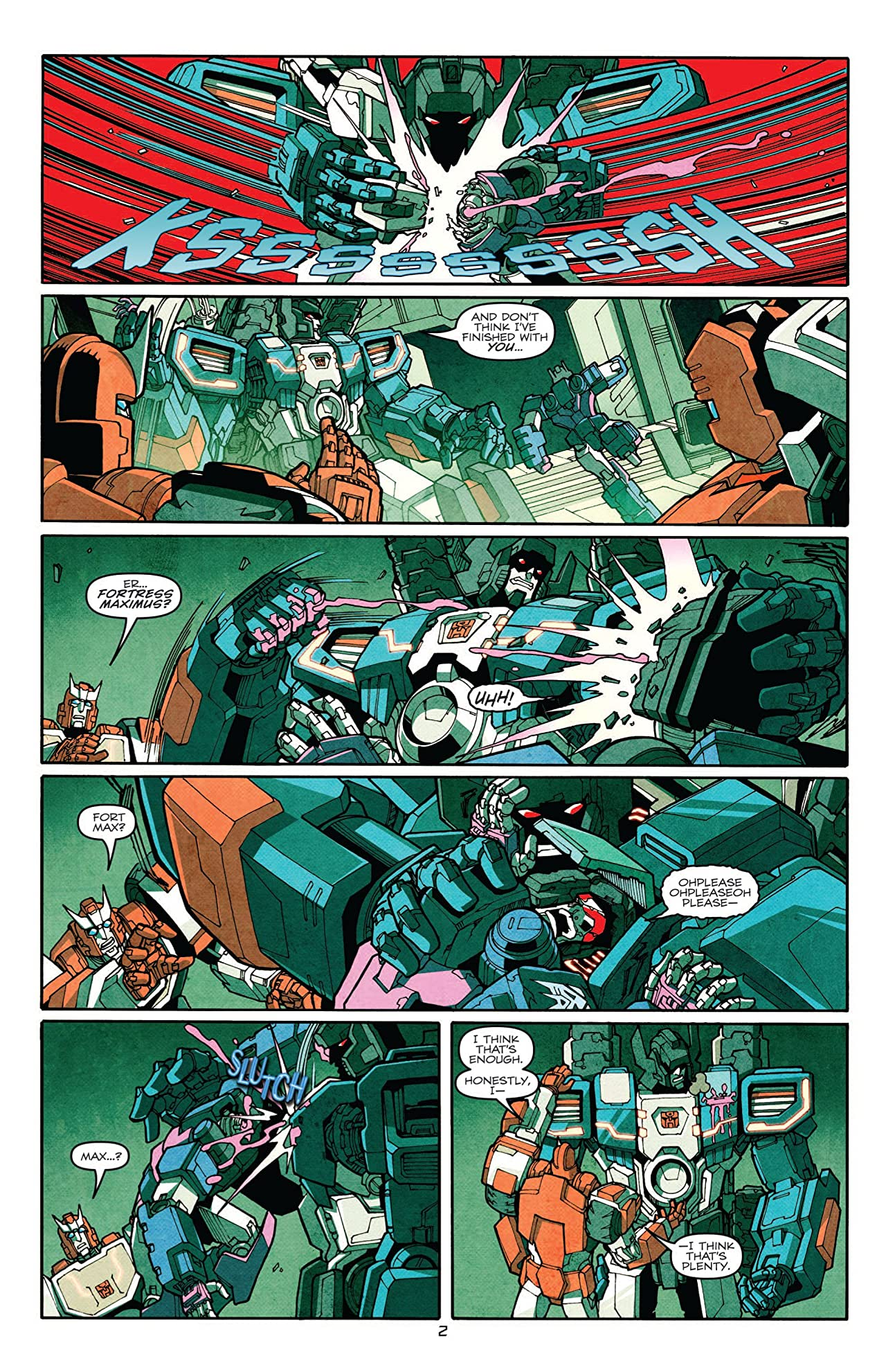 Transformers: More Than Meets the Eye (2011-2016) #5