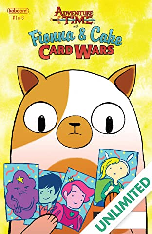 Adventure Time: Fionna & Cake Card Wars #1