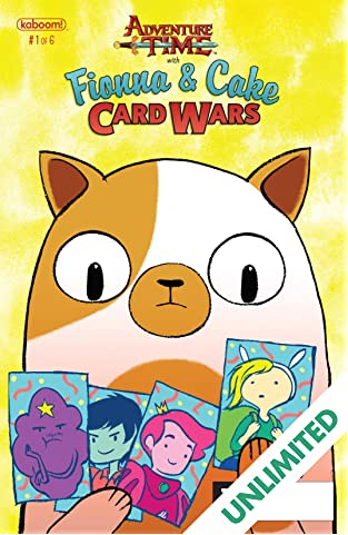 Adventure Time: Fionna & Cake Card Wars #1