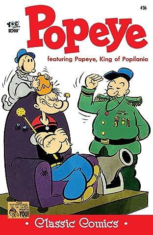 Popeye Classics #36