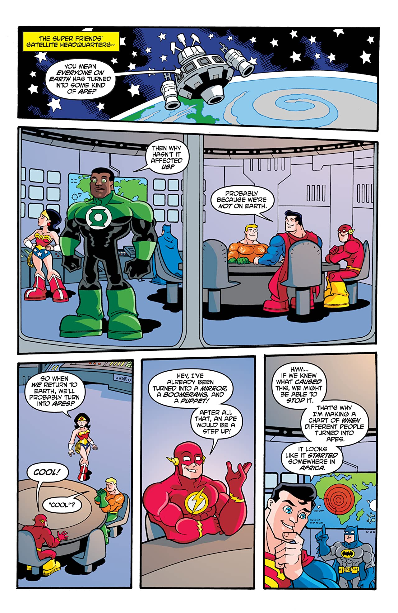 Super Friends (2008-2010) #5
