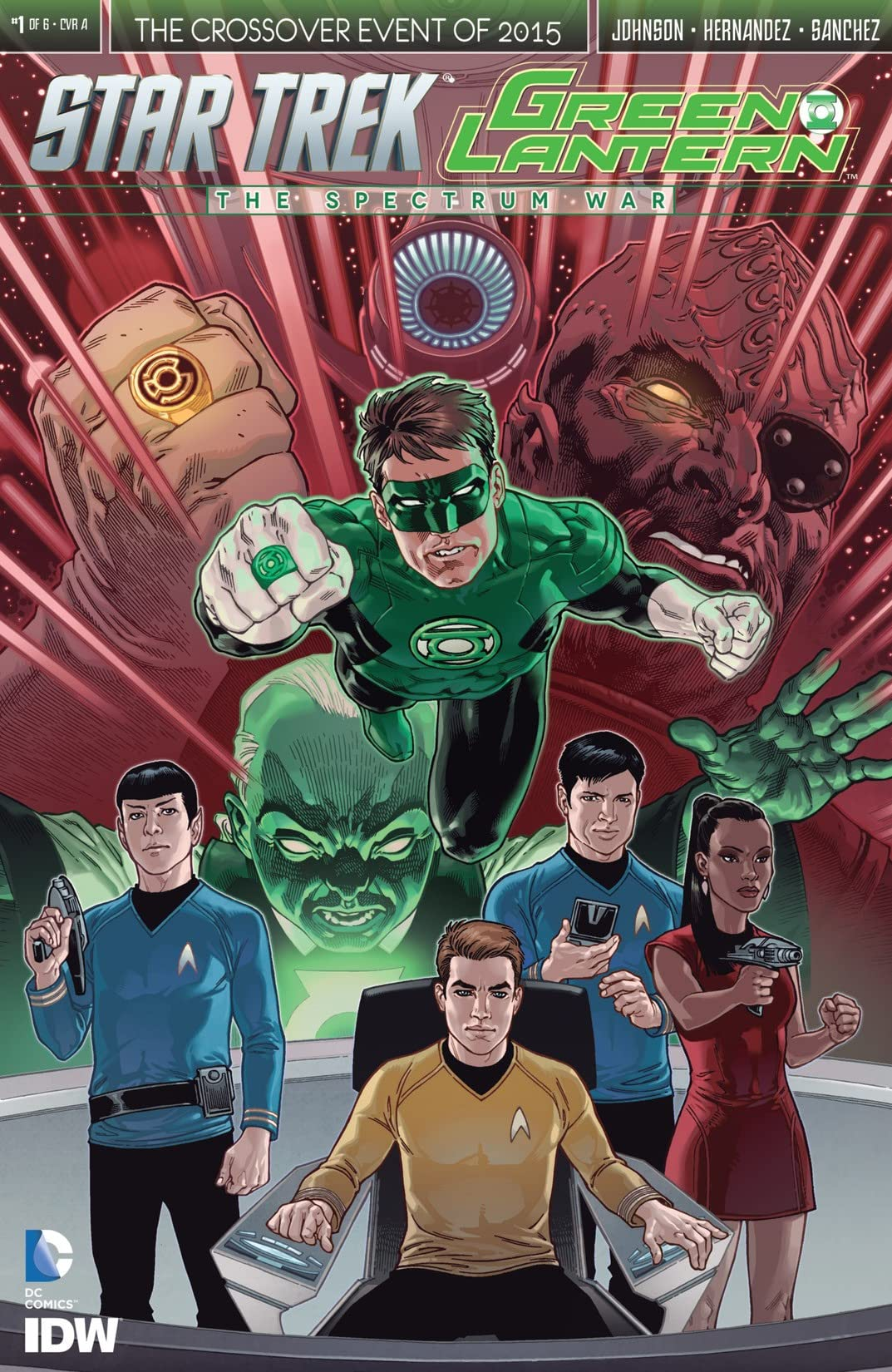 Star Trek/Green Lantern #1 (of 6)