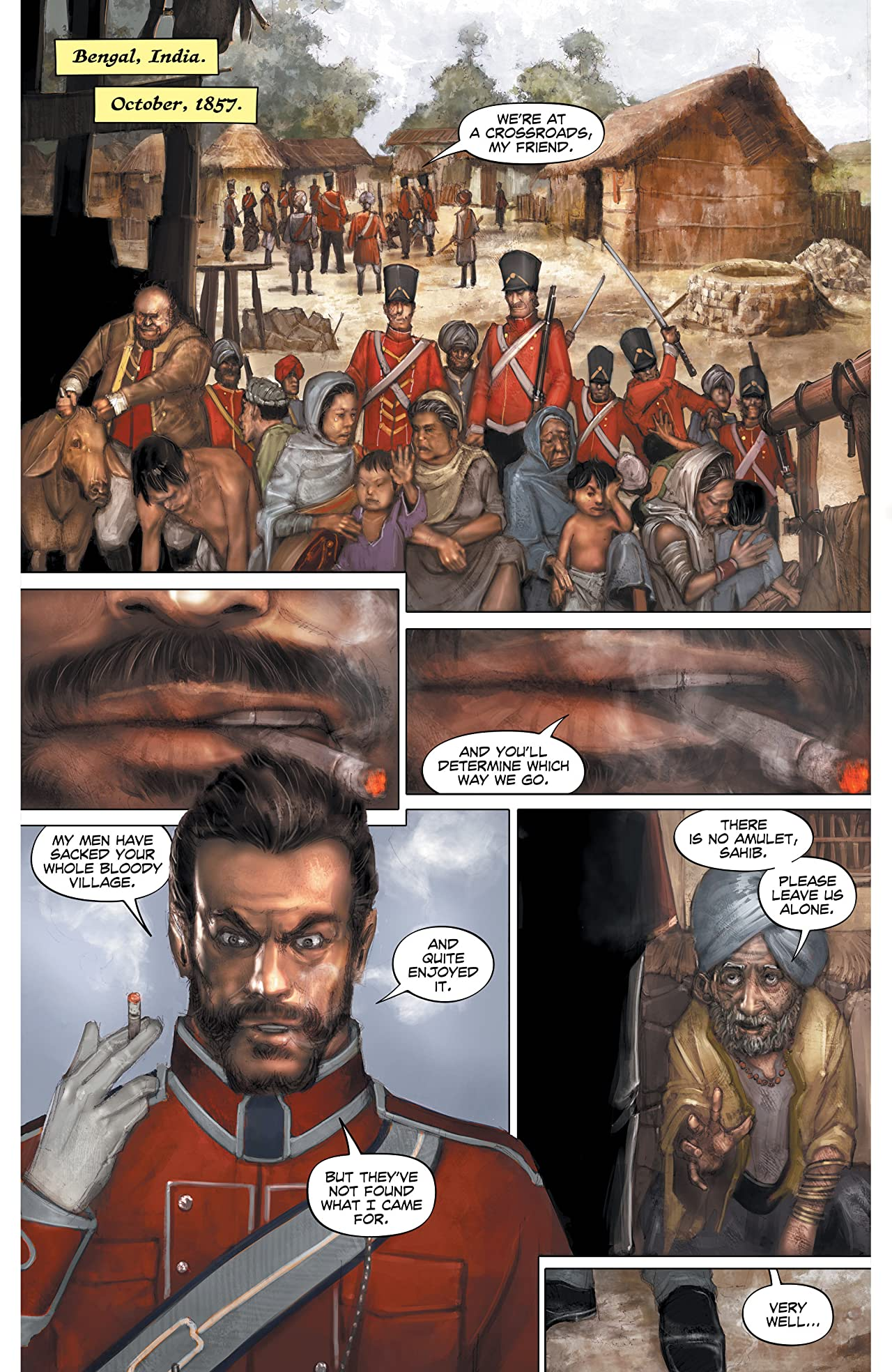 The Sadhu: Birth of the Warrior #1 (of 6)