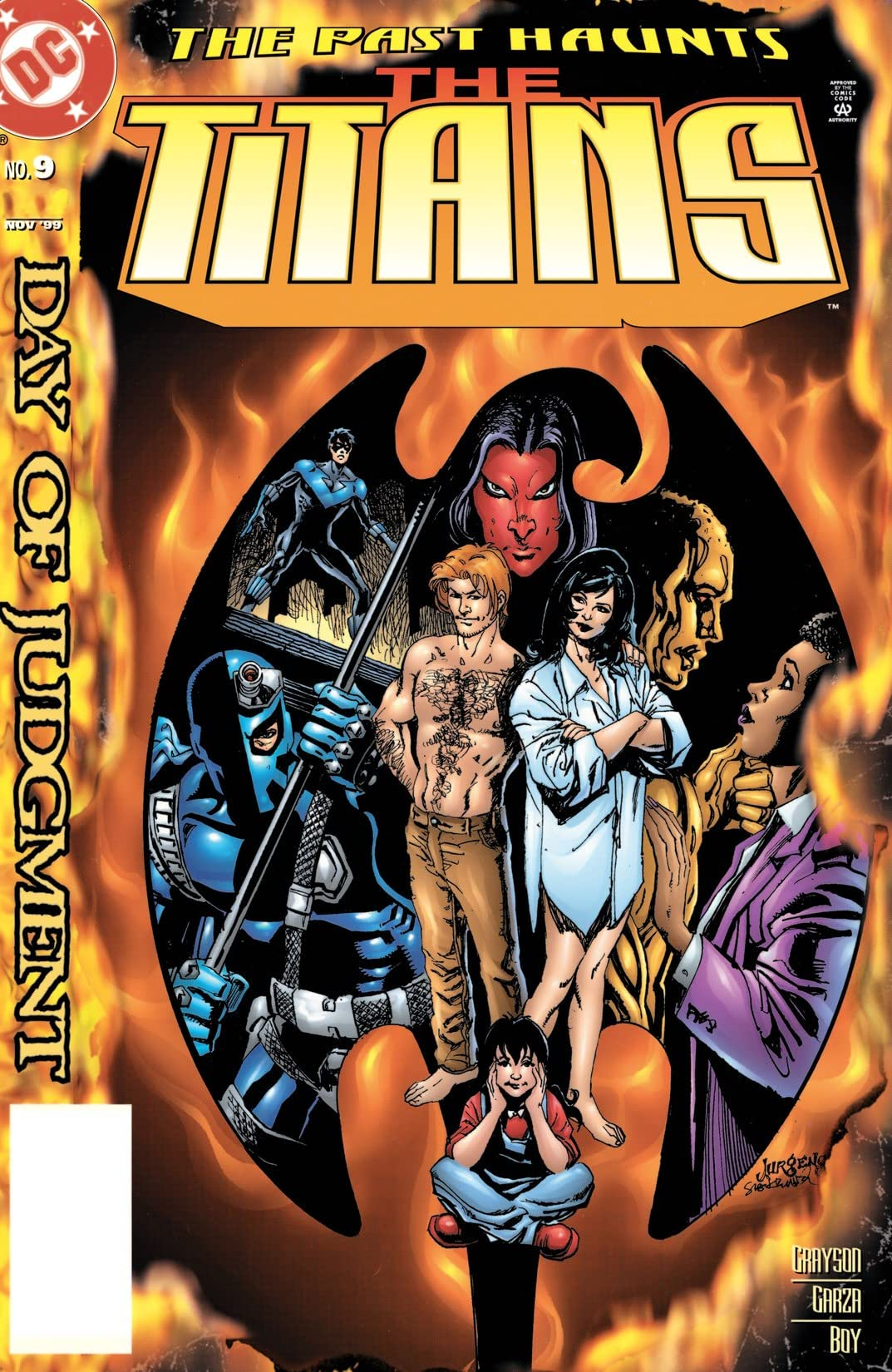 The Titans (1999-2003) #9