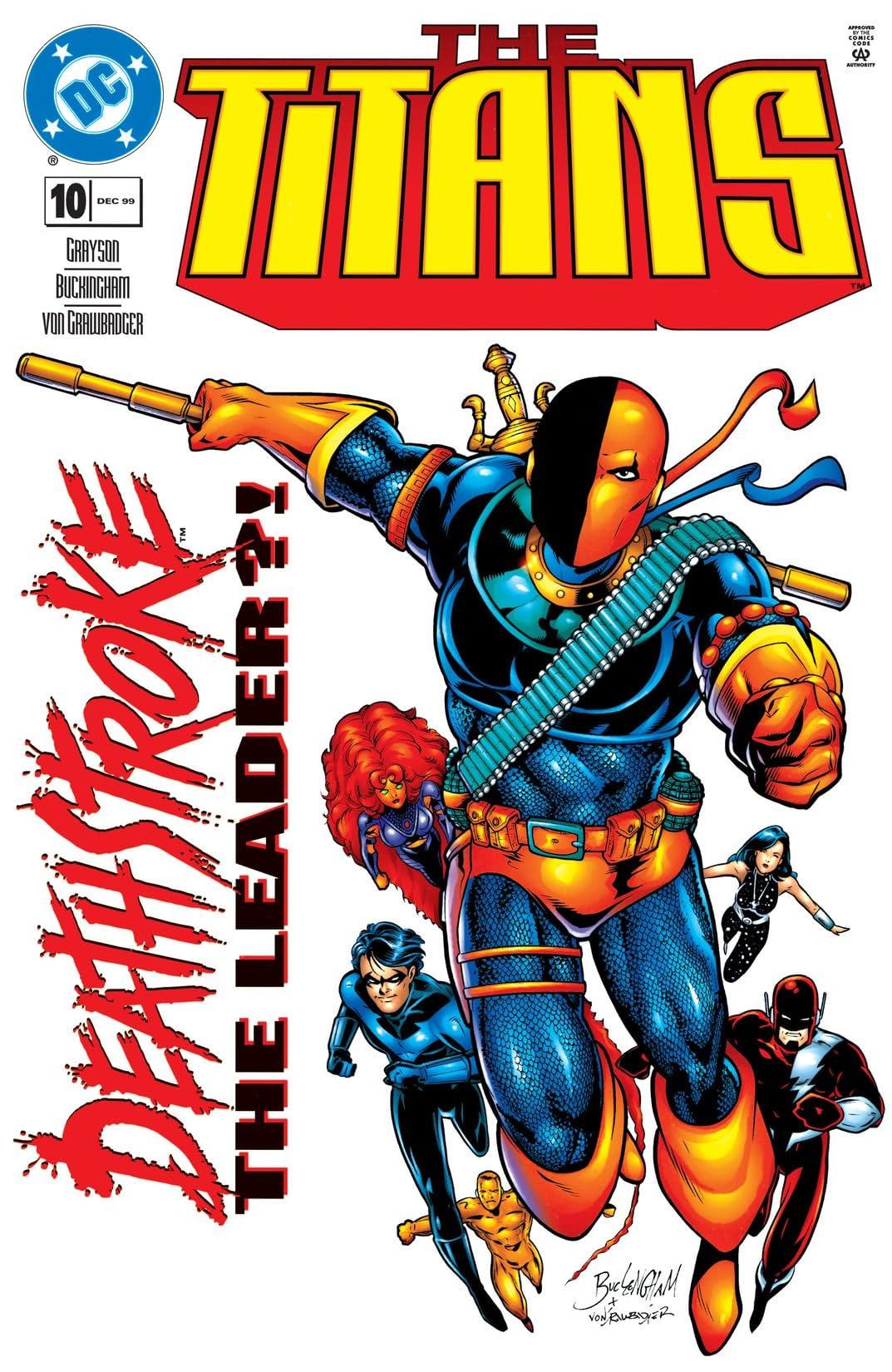 The Titans (1999-2003) #10