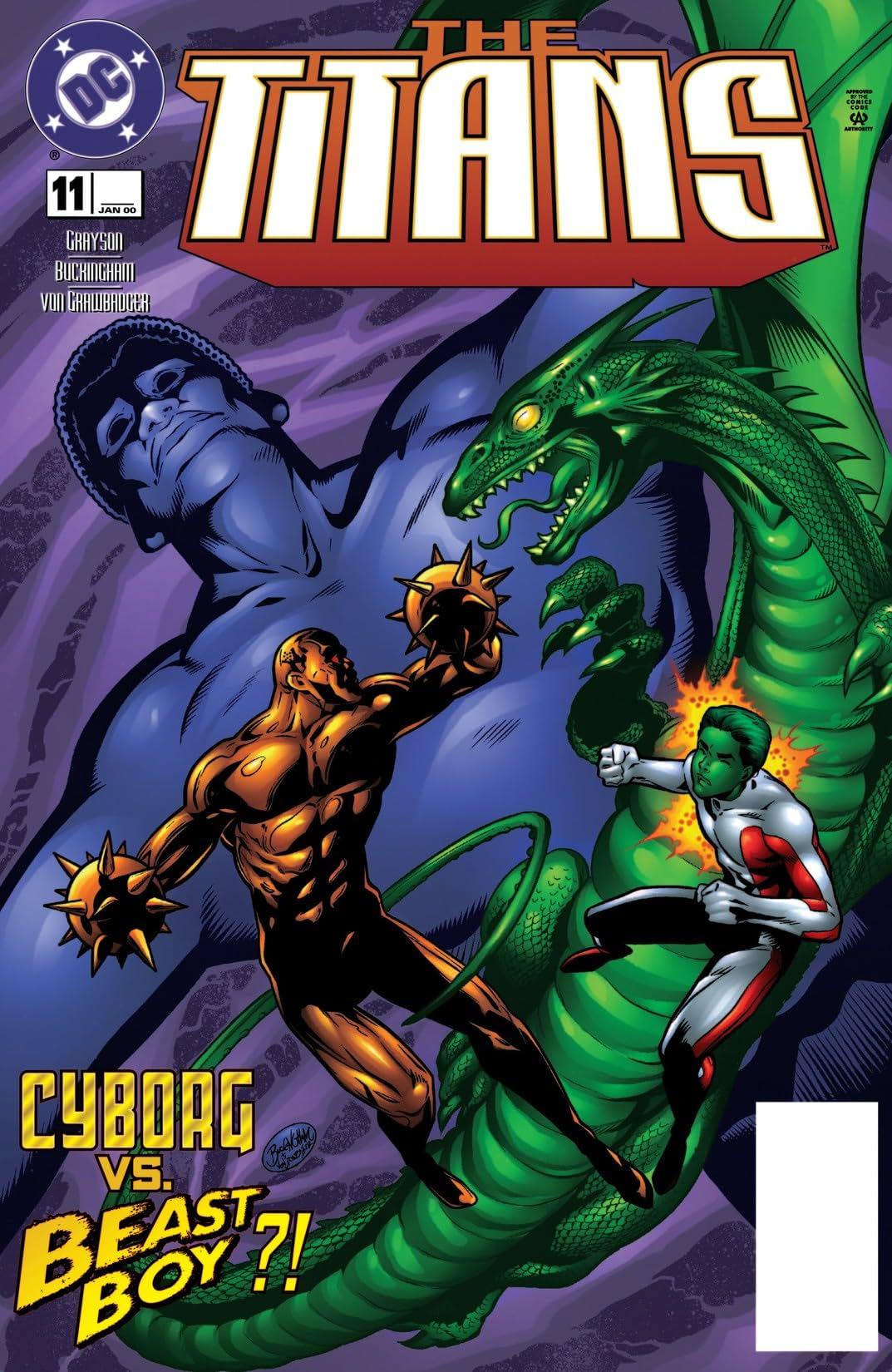The Titans (1999-2003) #11