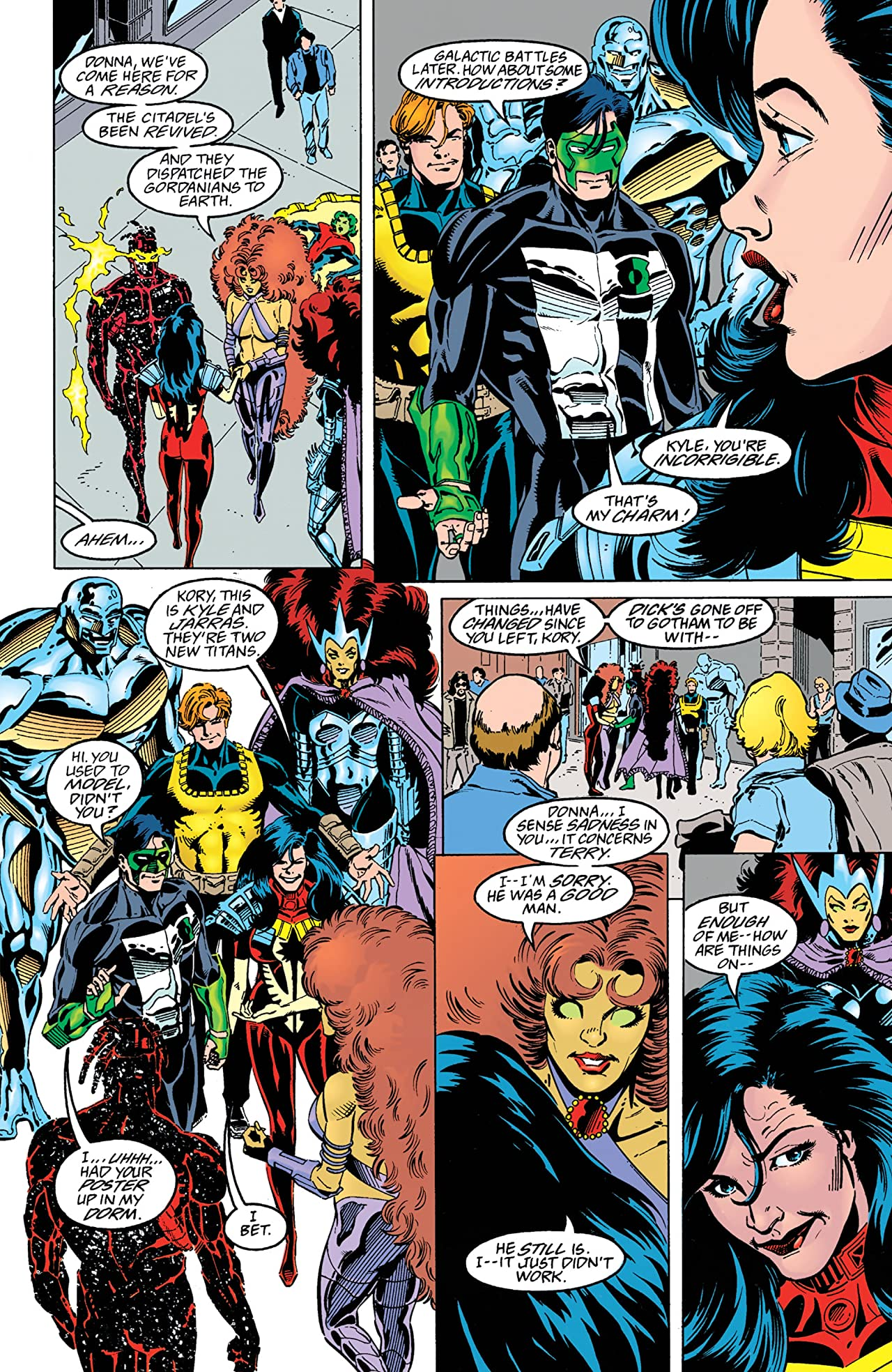 The New Titans (1984-1996) #128