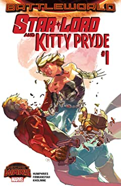 Star-Lord and Kitty Pryde (2015) #1