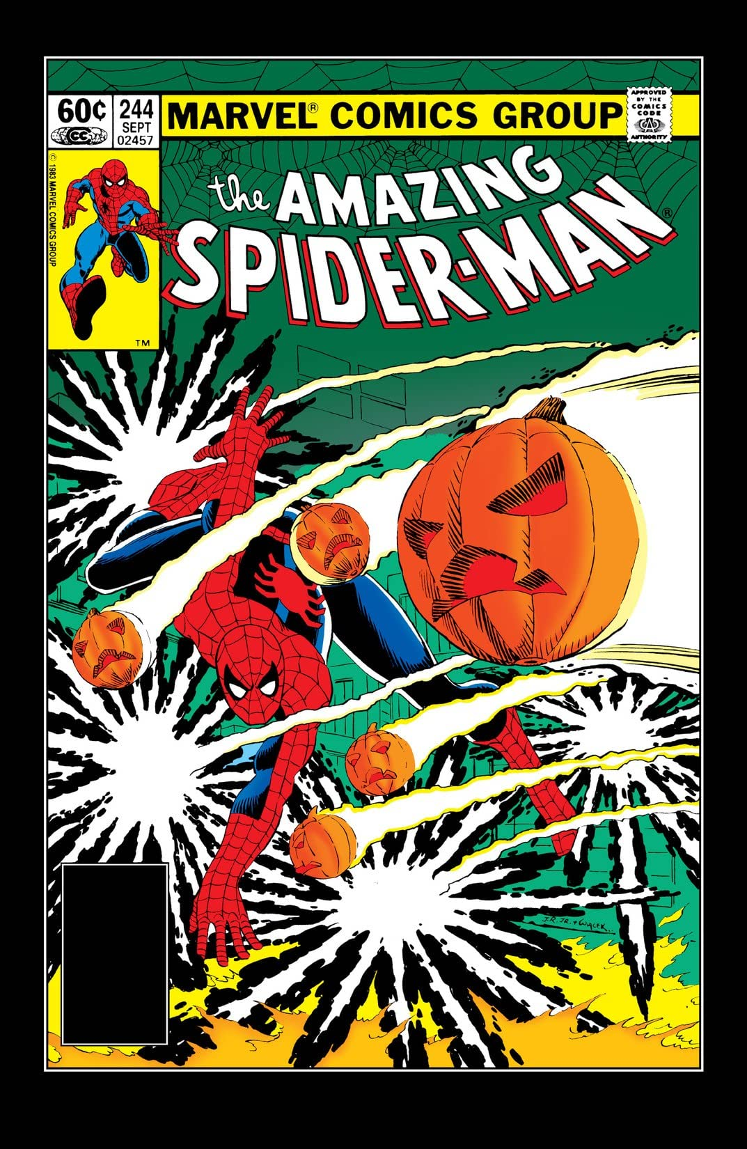 Amazing Spider-Man (1963-1998) #244