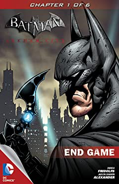 Batman: Arkham City: End Game No.1