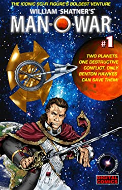 William Shatner's Man O' War #1