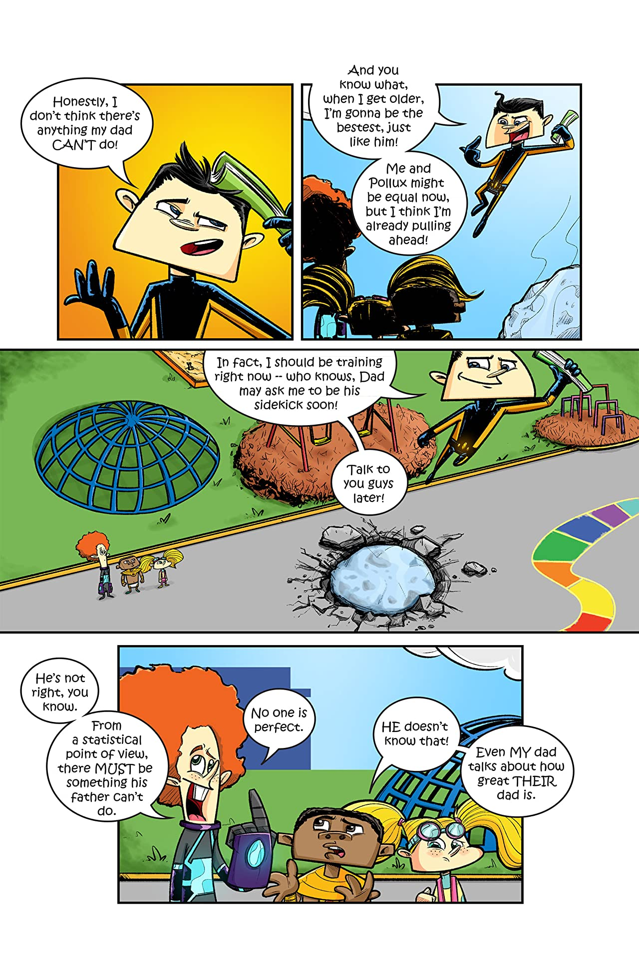 Wonder Care Presents: The Kinder Guardians #2