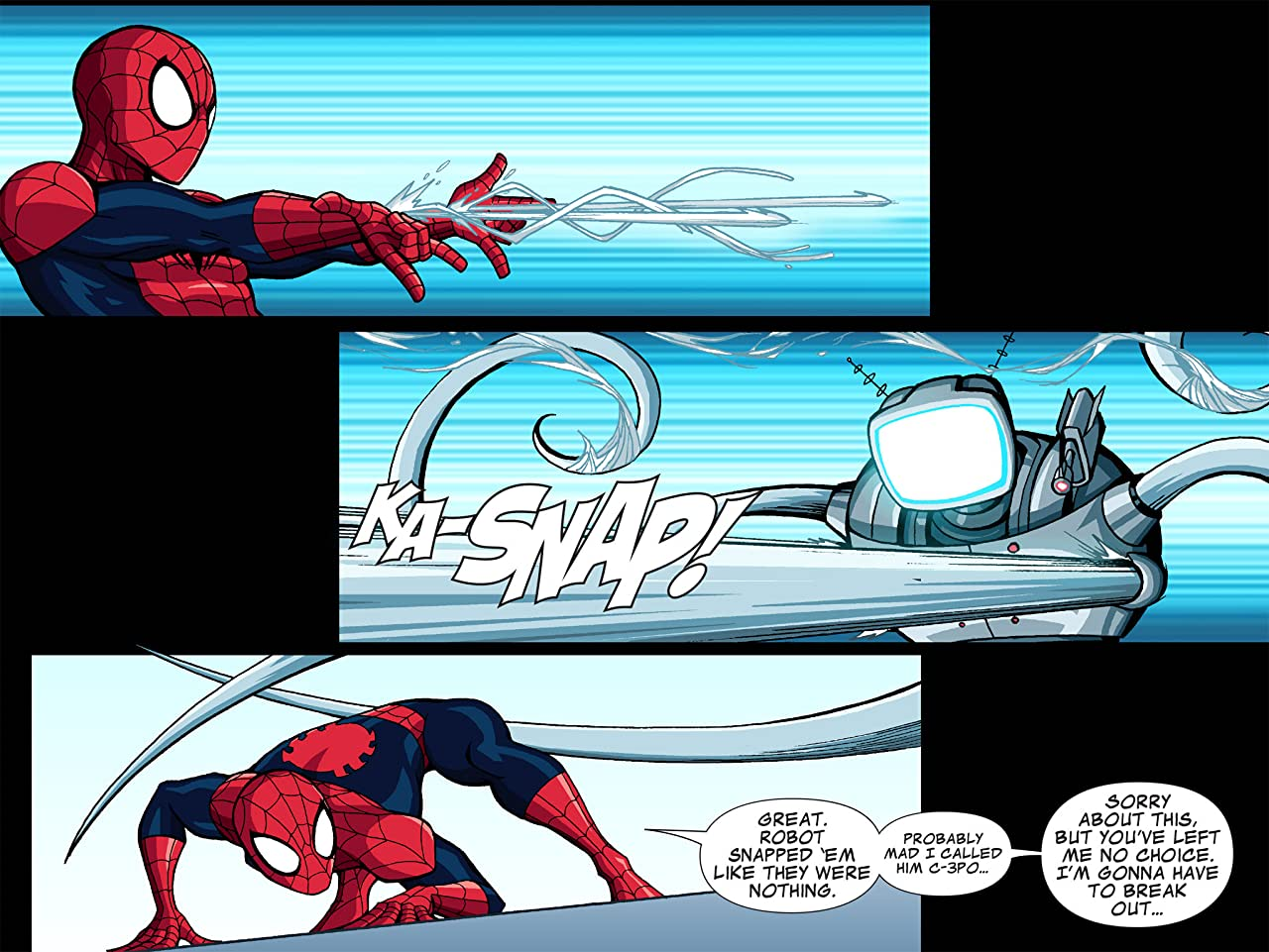 Ultimate Spider-Man Infinite Comic #2