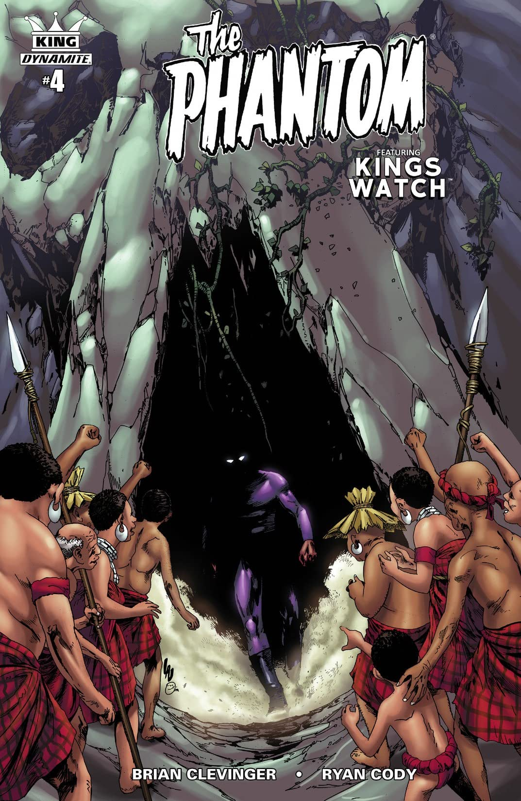King: the Phantom #4 (of 4): Digital Exclusive Edition