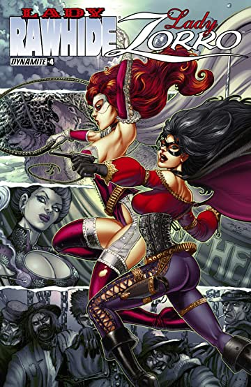 Lady Rawhide/Lady Zorro #4 (of 4): Digital Exclusive Edition