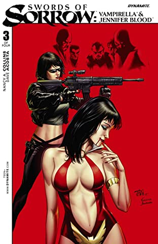 Swords of Sorrow: Vampirella & Jennifer Blood No.3 (sur 4): Digital Exclusive Edition
