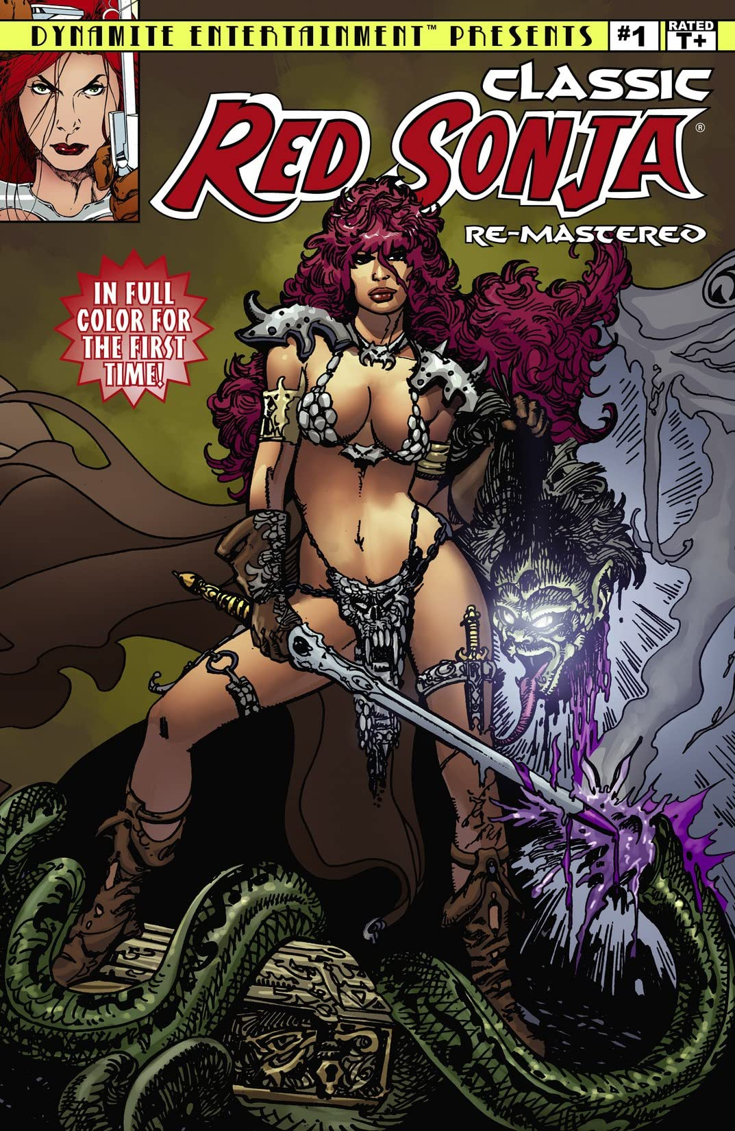 Classic Red Sonja Remastered #1