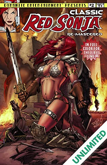 Classic Red Sonja Remastered #2