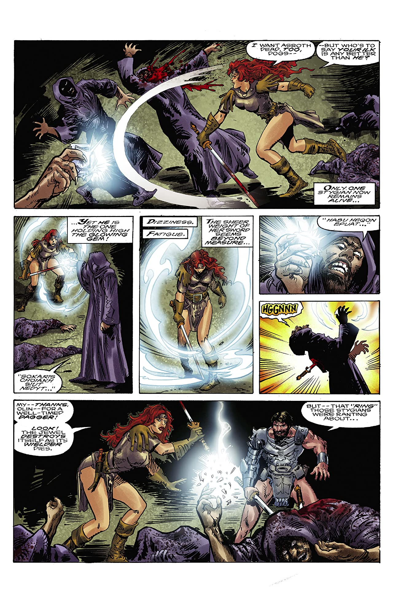 Classic Red Sonja Remastered #3