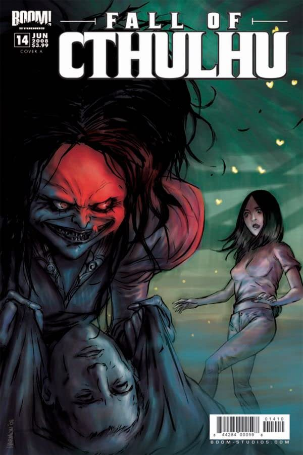 Fall of Cthulhu Vol. 3: The Gray Man #4 (of 4)