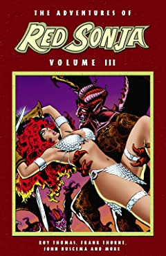 The Adventures of Red Sonja Tome 3
