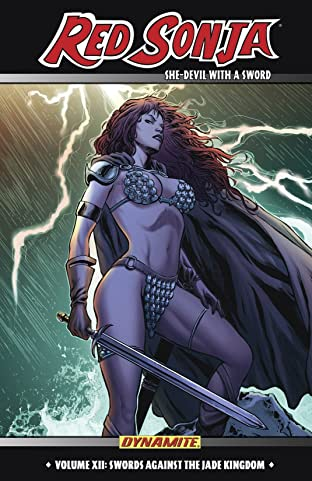 Red Sonja: She-Devil With a Sword Tome 12: Swords Against The Jade Kingdom