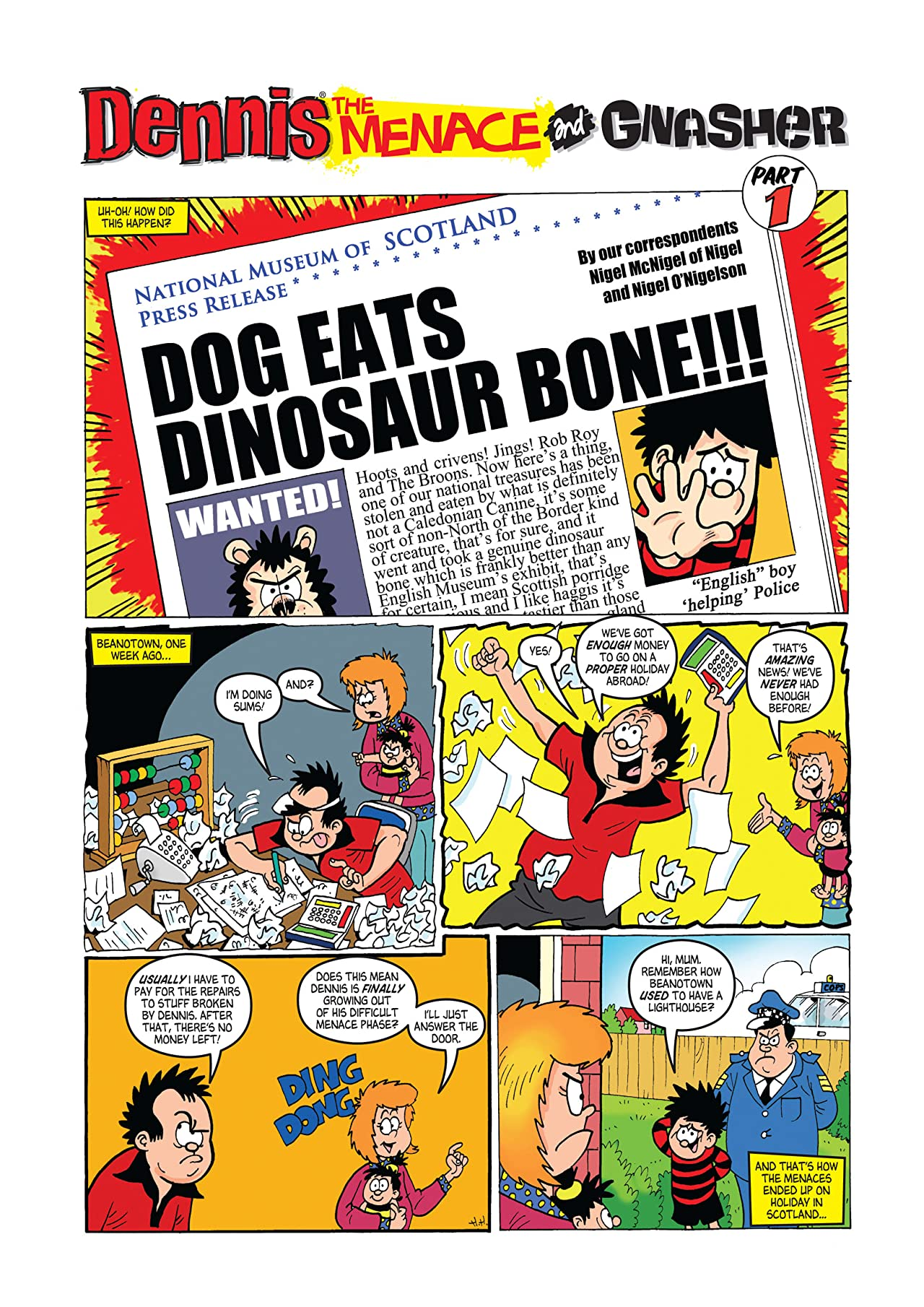 The Beano presents Dennis the Menace and Gnasher Vol. 13: Tanks For the Menacing!