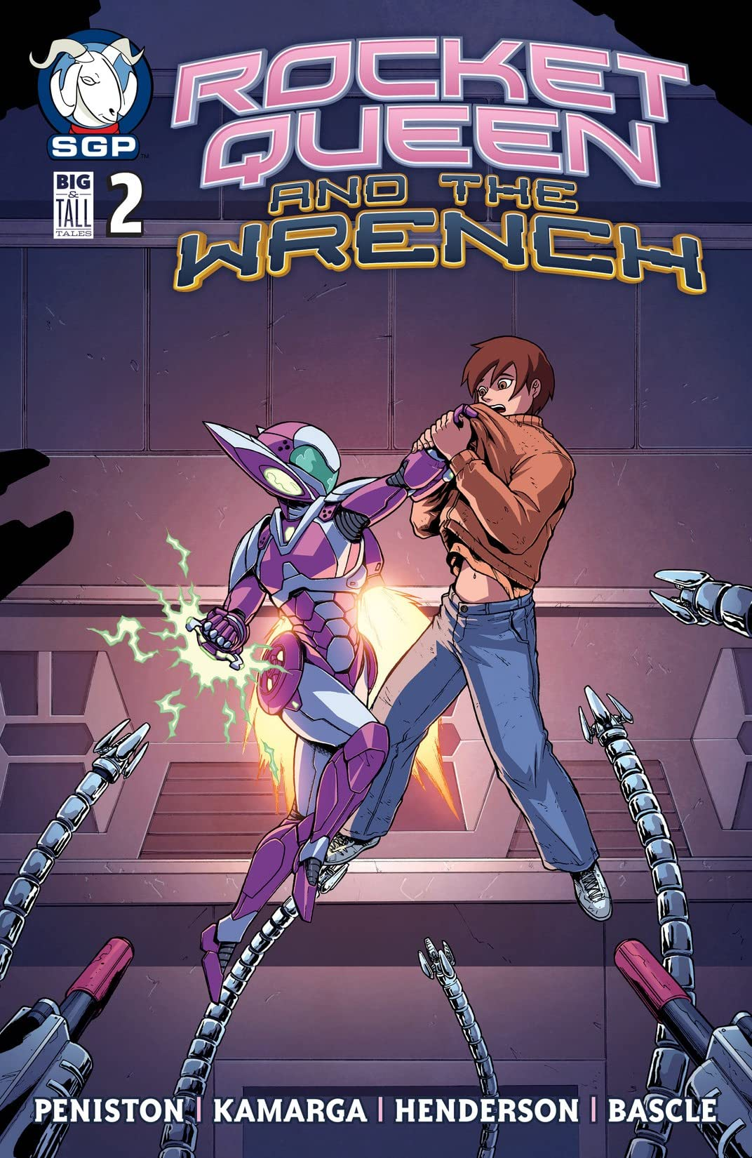 Rocket Queen and the Wrench #2
