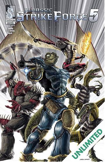 Jurassic Strike Force 5 #4