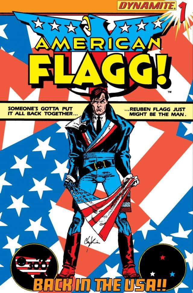 American Flagg! #1