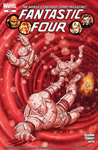 Fantastic Four (1998-2012) No.606