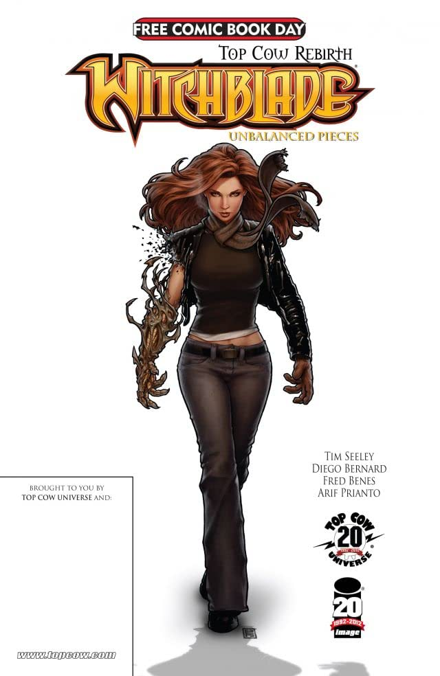 FCBD 2012 Witchblade Unbalanced Pieces