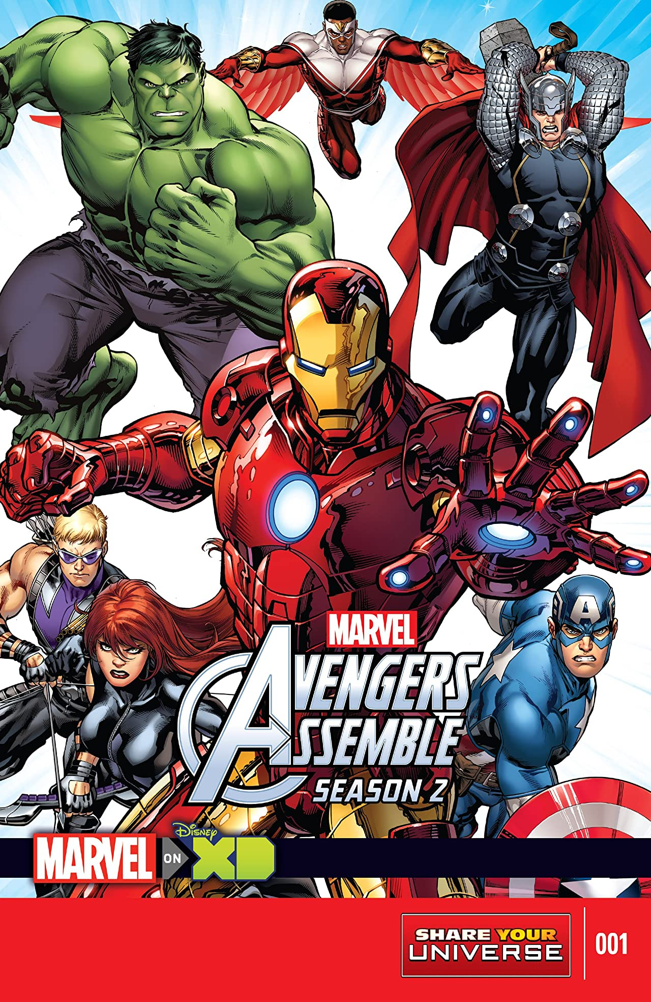 Marvel Universe Avengers Assemble Season Two (2014-2016) #1