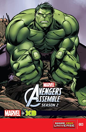 Marvel Universe Avengers Assemble Season Two (2014-2016) #3