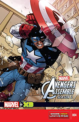 Marvel Universe Avengers Assemble Season Two (2014-2016) #4