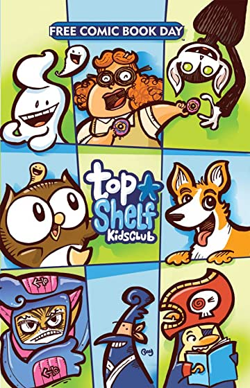 FCBD Top Shelf Kids Club 2012