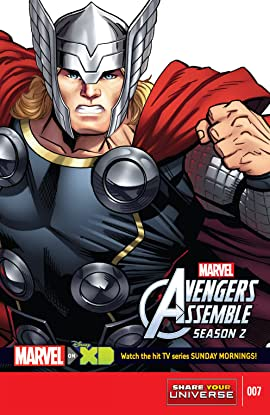 Marvel Universe Avengers Assemble Season Two (2014-2016) #7