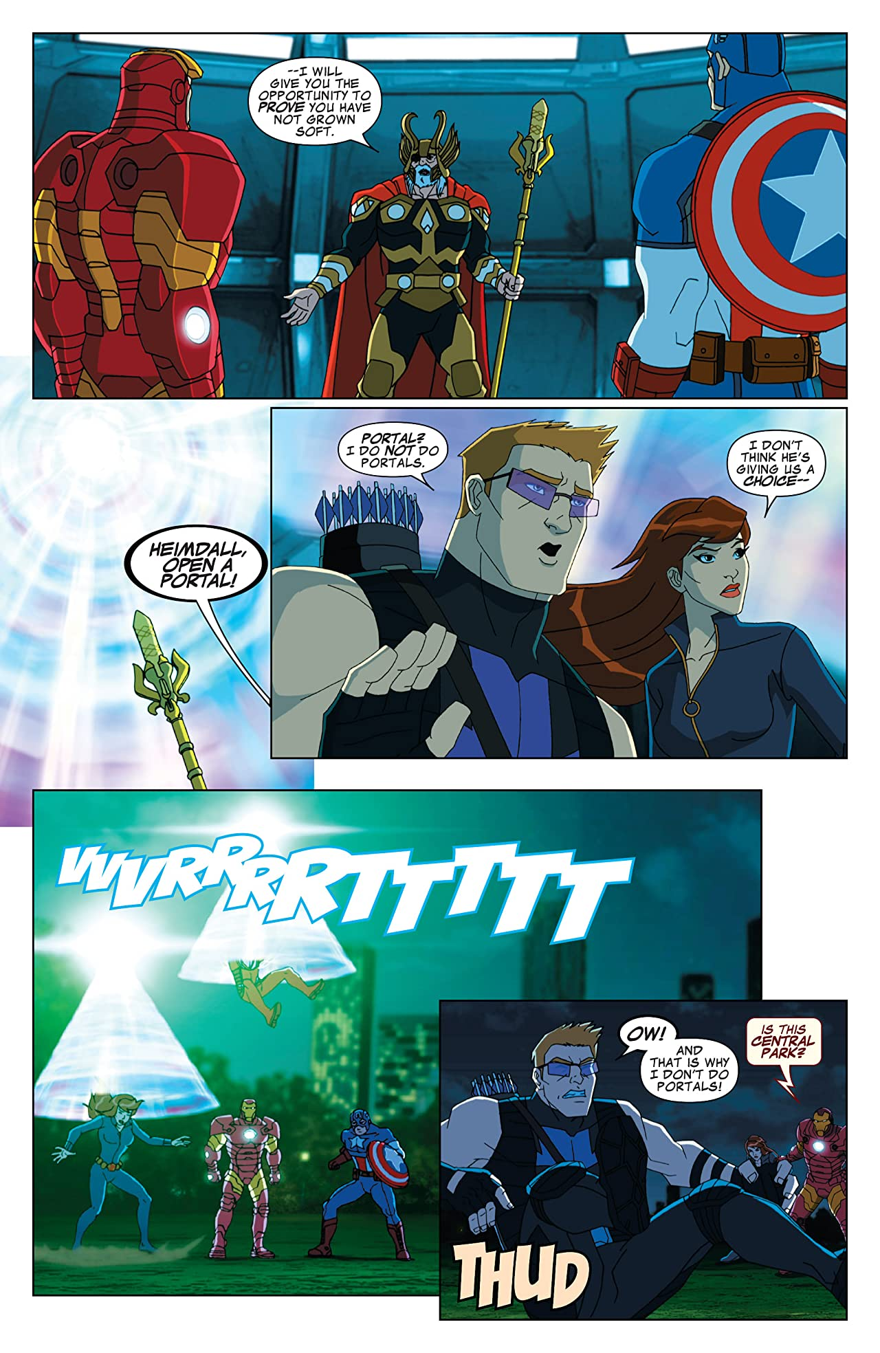 Marvel Universe Avengers Assemble Season Two (2014-2016) #7