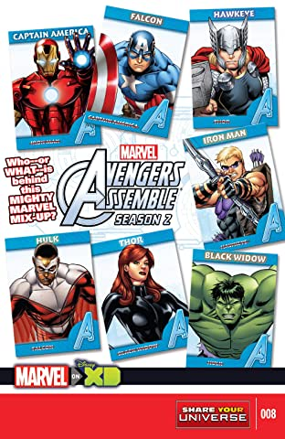 Marvel Universe Avengers Assemble Season Two (2014-2016) #8