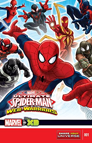 Marvel Universe Ultimate Spider-Man: Web Warriors (2014-2015) #1